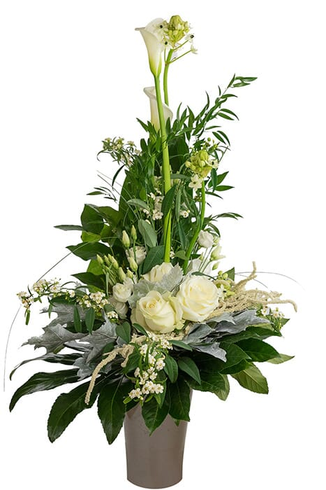 Blumenstrauß White Star von Blumen Weisz